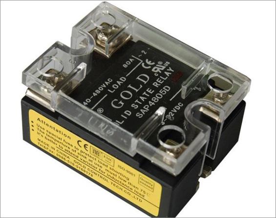 下面通过两个固态继电器工作原理图来说明固态继电器